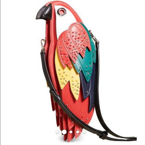 NWT kate spade rio parrot crossbody purse bag